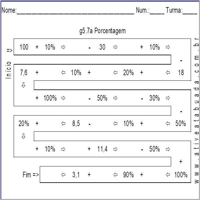 Atividade g5.7a Porcentagem