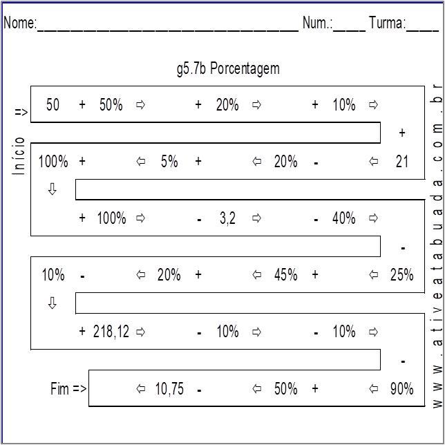 Atividade g5.7b Porcentagem